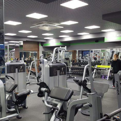 Зеркала в спортзал «Росвик»
